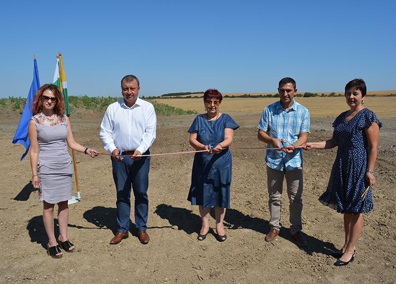 IРекултивираното общинско депо в Павликени беше официално открито
