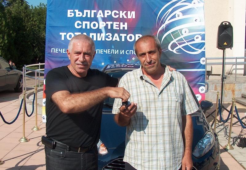IНов Форд на късметлия от Павликени от спортния тотализатор