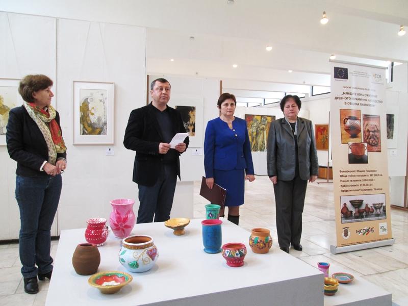 IИзложба на керамични съдове подредиха в Историческия музей
