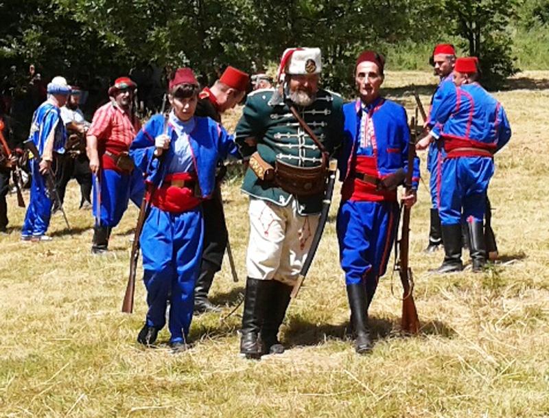 I148 години от битката в местността Канлъ дере отбелязаха в с.Вишовград